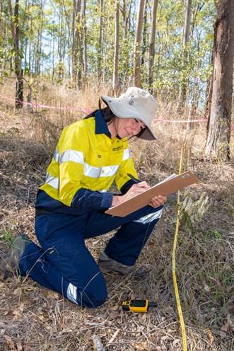 Habitat equivalency analysis surveys